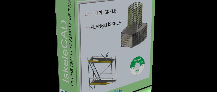 iskeleCAD 4.0 Cephe iskele Yazılımı Yayında ! ücretsiz indirilebilir.